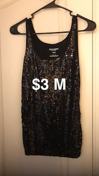 black and gray sequined scoop neck mini dress Parrish, 34219