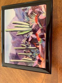 pink and white floral painting Moorpark, 93021