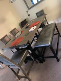 Dinning table with 4 chairs and 1 bench Alexandria, 22314