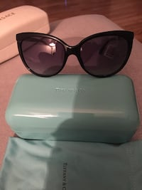 Authentic Tiffany sunglasses with case