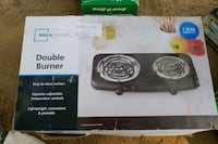 Double burner Electric stove Moreno Valley, 92553
