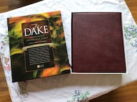 Hard to find Genuine Leather Dake Bible Like New Mount Holly, 28120