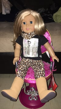 Real American doll with American doll chair Windsor, N8W 5E3