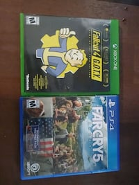 Far Cry 5 and Fallout 4 Portsmouth, 23701