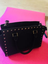 Michael Khors Black leather 2-way handbag Manassas, 20110