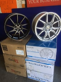 18x8 5x114.3 Wheels  New York, 11434