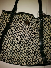 black and white leather Michael Kors tote bag Bel Air, 21014