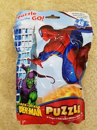 New Marvel Spiderman Puzzle on the Go Springfield