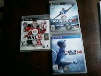 three Sony PS3 games brand new  Windsor, N8W 4H8