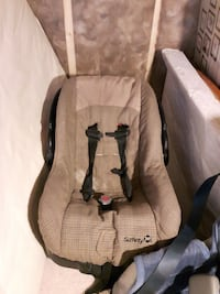brown Safety car seat carrier