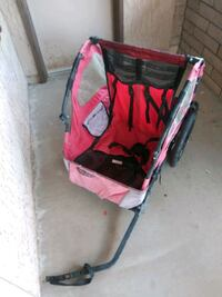 baby's red and black stroller Mesa, 85205