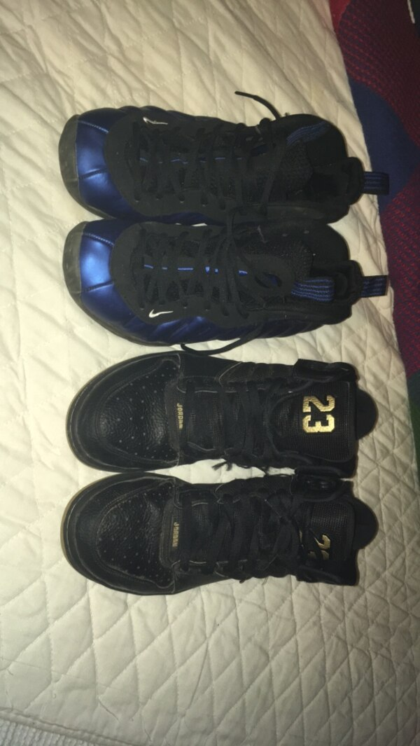 70b6dc79bdb1e Used Nike air Jordan   Nike Foamposite men s 10   9.5 for sale in Belews  Creek - letgo