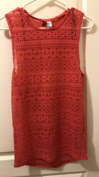 red and white floral sleeveless dress Toronto, M6P 1X8