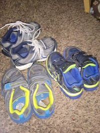 3 pair of little boys shoes Wichita, 67211