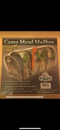 brand new in the box never used camouflage metal mailbox Dracut, 01826