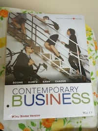 contemporary business wiley binder version Ontario, M1C 1G1
