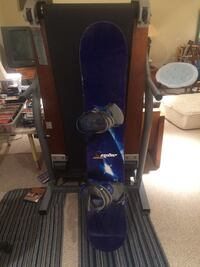 Snowboard - Ride Control 153cm with Ride LS bindings Gaithersburg, 20882