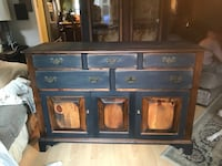 brown wooden dresser with mirror Alexandria, 22315