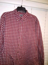 black and white plaid dress shirt Panama City Beach, 32407