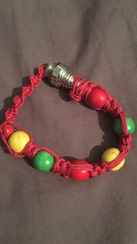 red yellow and green beaded bracelet East Hartford, 06118