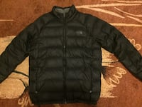 Black North Face bubble crew neck jacket for sale  Toronto