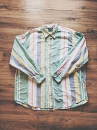 Sz XL VTG Nautica Button Up Calgary, T3R 1R8