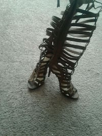 pair of black gladiator sandals Pickering, L1V 6P5