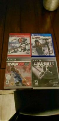 3 Ps3 games and 1 Ps4 game Las Vegas, 89120
