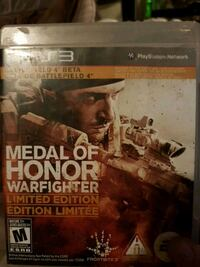 Medal of Honor Warfighter Xbox 360 game case Dartmouth, B3A 4C5