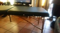 black and brown portable massage table Whittier, 90604
