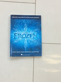 Frozen piano book