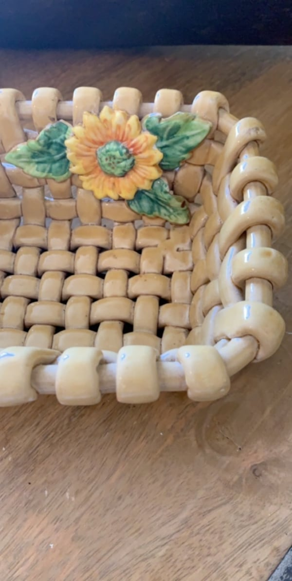 Ceramic basket  1