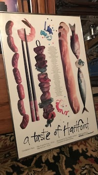 Taste of Hartford ad poster Old Saybrook, 06475