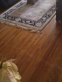 rectangular gray and brown wooden coffee table Montreal, H3W