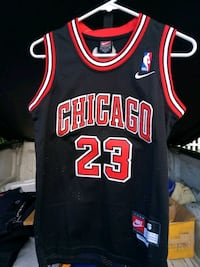 black and red Chicago Bulls 23 jersey Greenville, 29605
