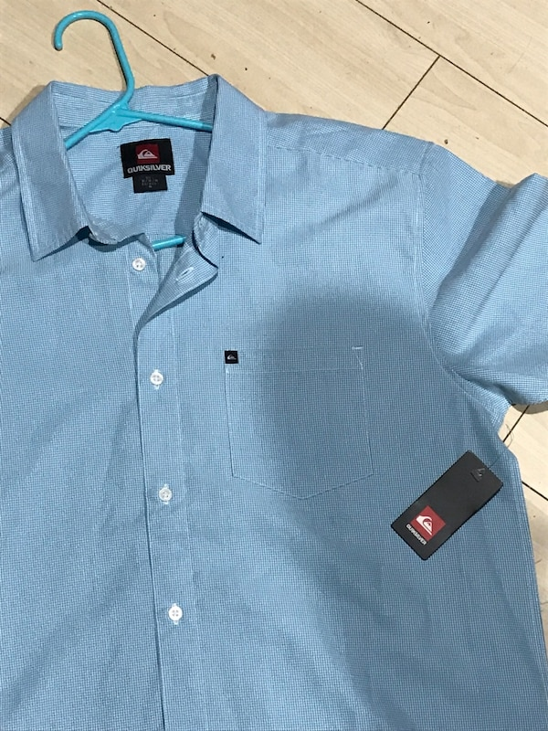 40fd3fbba1 Used blue Quicksilver button-up dress shirt for sale in Long Beach ...