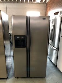 Frigidaire Stainless Side by Side Refrigerator Queens