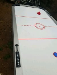 """Sir hockey table.  82"""" long.  Air not working.   Everything else is go"""