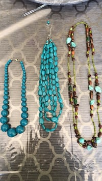 Assorted Necklaces, $10 Each Whitchurch-Stouffville