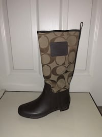 Brown Coach Rain Boots Alexandria, 22304