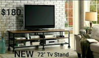 Industrial 72-Inch TV Stand