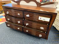 New Brown 6 Drawer Long Dresser Virginia Beach, 23462