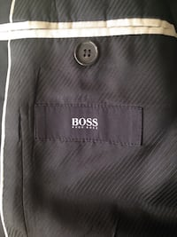 Hugo Boss Sports Jackets Size 38R Navy Blue & Grey $50 or both for $75 Toronto, M8Z 3Z7