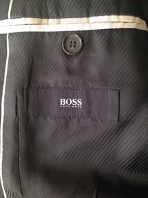 Hugo Boss Sports Jackets Size 38R Navy Blue & Grey $50 or both for $75