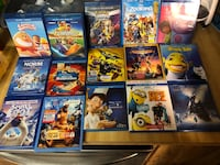 Most are Blu Ray and DVD but some are just Blu ray asking 10 each Lakeland, 33810