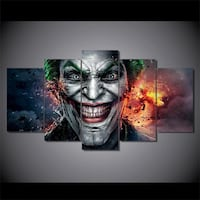 Joker Canvas Paintings Print/Picture  3125 km