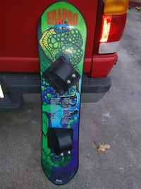 Snowboard pre-owned good condition.  x-posted