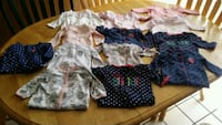 BABY GIRL SIZE 6 MONTHS SLEEPERS  Riverview, 33578