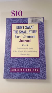 Don't Sweat The Small Stuff For Women Journal: Never Used Brampton, L7A