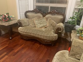 3 Piece SOFA + Dining Table Set